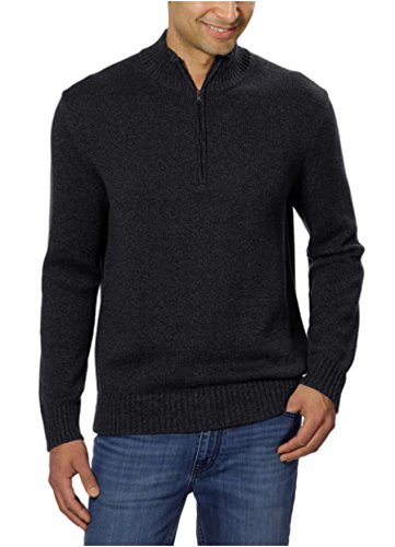Zip Ribbed Pullover - 3