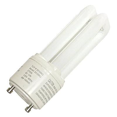 (12-Pack) TCP 33109Q30K 9-Watt 3000K GU24 Base CFL PL Quad Tube, 45W Equivalent