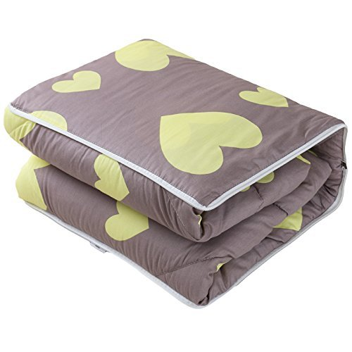 HOMEE Cotton Fabric Pillow Quilt Automobile Use Cushions Are Sofa Office Lunch Break Fold Quilt ,4040, Nga Love,The atmosphere of love,4040