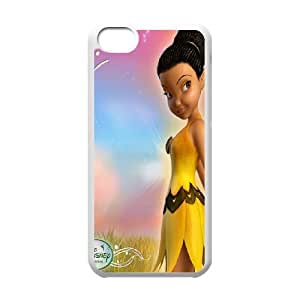 Disney Tinker Bell Clear Hard Case Cover Gold Color For Iphone 5c GHLR-T412226