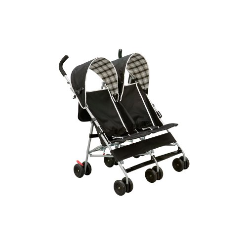 Delta Children City Street Side by Side Stroller, Black by Delta Children (Image #5)