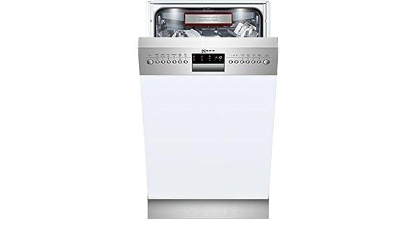 Neff GK 6601 TN lavavajilla Semi-incorporado 10 cubiertos A+++ ...