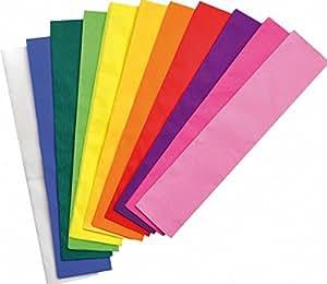 Playbox - conjunto de papel crepé (11 colores) - 160 x 54 cm - (PBX2470288)