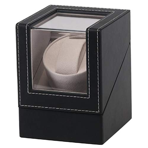 Rectangle Wood Tags High Class Motor Holder Display Automatic Mechanical Watch Winding Box Automatic Watches Box
