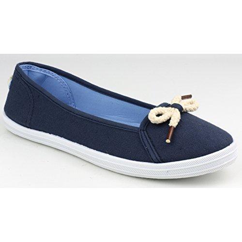Divaz Lopez zapato de verano para mujer Azul marino