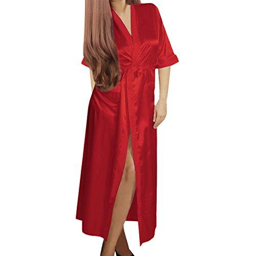 Vestaglia Isassy Vestaglia Donna Isassy Rosso EwROPqwSY