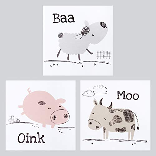 (Trend Lab Farm Stack Canvas Wall Art 3 Pack)