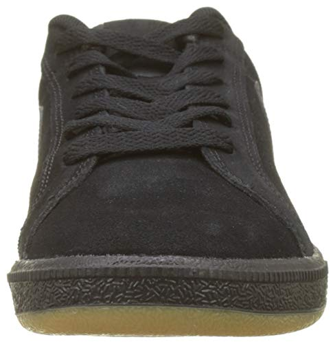 Gum Light Black Brown NIKE Sneaker Suede 008 Royale Herren Court Schwarz Pwp60