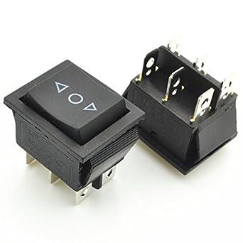 3 Position SPDT Round Rocker Switch 6A 240V 250V //////// 10A 120V 125V AC