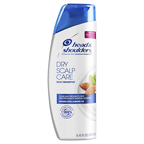Head and Shoulders Dry Scalp Care Daily-Use Anti-Dandruff Shampoo, 8.45 fl oz (Packaging May Vary) ()