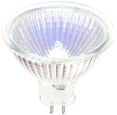 SYLVANIA 54306 - 20 Watt Halogen Light Bulb - MR16 - Tru-Aim - BAB Flood - Glass Face - 2,000 Life Hours - 12 Volt