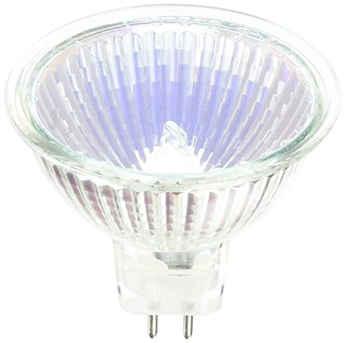 OSRAM SYLVANIA GIDDS-681432 681432 Tru-Aim Halogen Flood Lamp, Mr16, 20W, Gu5.3 Bipin, Uv Filter, Dichroic, 36 Deg. Beam Angle