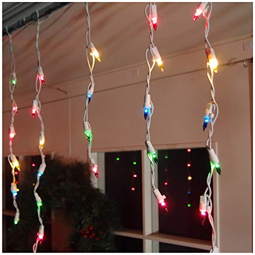 Hang Outdoor Christmas Lights Straight in US - 8