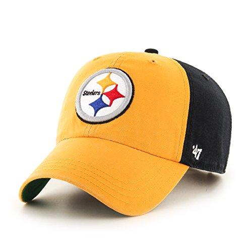 47 NFL Black Flagstaff Clean Up Adjustable Hat, One Size