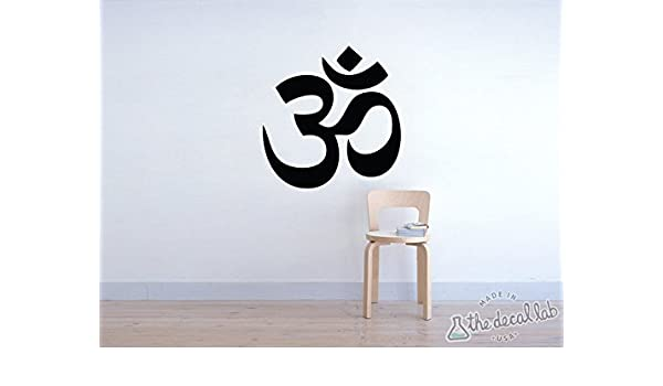 Amazon.com: Yoga Om Wall Decal: Handmade