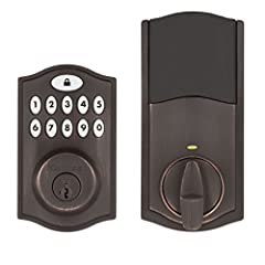 """Add convenience and security to your home with the SmartCode 914 keypad electronic deadbolt. This Kwikset Smartcode lock (Amazon Key Edition) works exclusively with Amazon Key. Amazon Cloud Cam Key Edition is required to use with Amazon Key...."