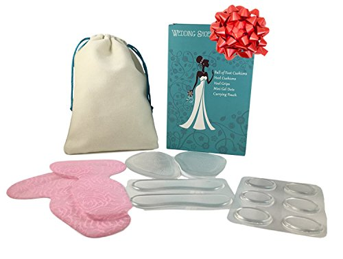 Wedding Day Survival Kit for Bridal Shoes - Perfect Gifts for the Bride, Maid of Honor, and Bridesmaids by Zoomie's