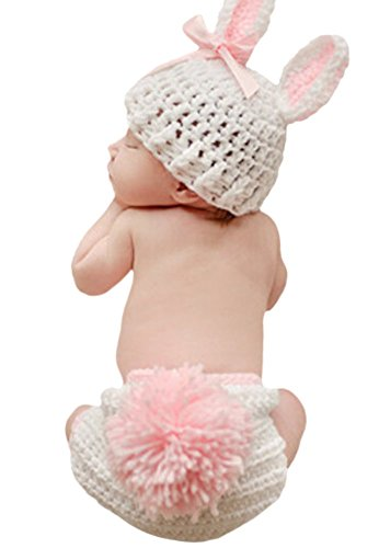 Halloween Baby Infant Toddler Cute Bunny Costumes 0-4 Month