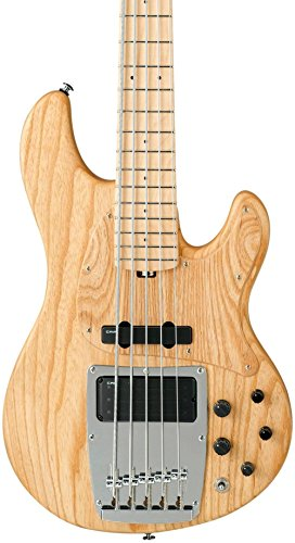 Ibanez Premium ATK815E 5-String Electric Bass Guitar Level 1 Flat Natural