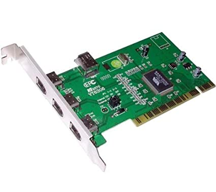 Advance FW-B401 - Tarjeta PCI (3 puertos FireWire): Amazon ...