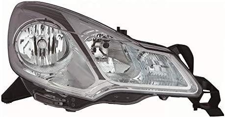 As Pictured Bezel Ultimate Styling Electric Adjustment Halogen Headlights//Headlamps Without Load Level Motor Drivers /& Passenger Side Internal Colour