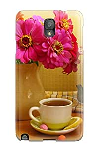 Hot New Pink Flower Still Life Case Cover For Galaxy Note 3 With Perfect Design