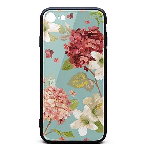 - Phonerebey 7/8 Case,Autumn Vintage Lily Flowers Anti-Scratch Shockproof Slim Cover Case Compatible with Apple 7/8 Case,TPU and Tempered Glass