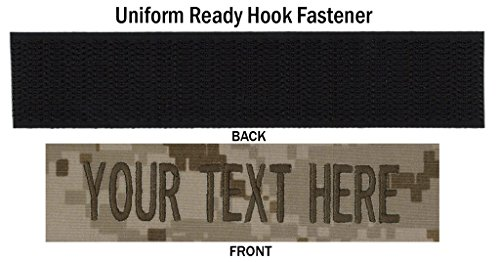 custom uniform name tapes 50 fabrics to choose from made in the usa ships under 24 hrs. Black Bedroom Furniture Sets. Home Design Ideas