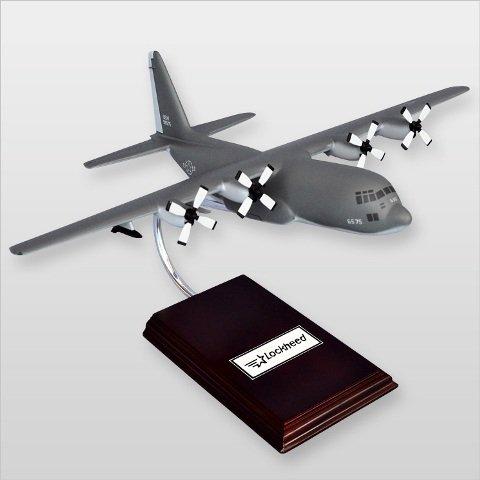 Mastercraft Collection MCC130HGW C-130 Hercules Gunship Wood Desktop Model