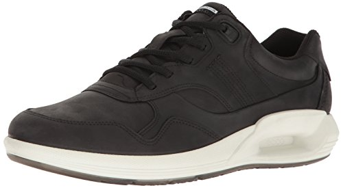 Ecco Uomo Cs16 Low Fashion Sneaker, Nero, 46 eu / 12-12,5 M Us