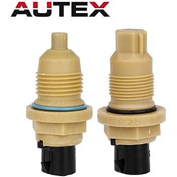 AUTEX 2PCS A604 40TE 41TE 41TES 42LE A604 A606 Transmission Solenoid Input Output Speed Sensor Compatible With Chrysler 1989 Up