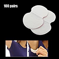 portable underarm armpit sweat pads shield guard absorbing disposable 200pcs