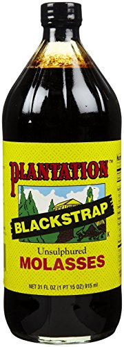 - Plantation Blackstrap Molasses, Unsulfured, 31 oz