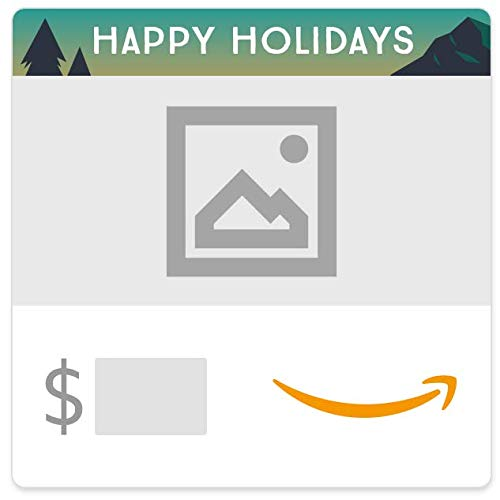 Amazon eGift Card - Your Upload - Winter Mountains