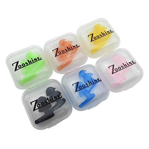 ca Gel Children Swimming Earplugs, Ear Protector for Kids with Box Package(Multi-Color) ()