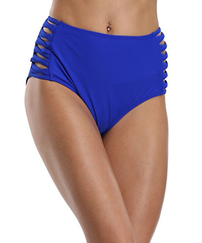 CharmLeaks - Braguitas - para mujer Royal Blue Hollow out