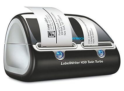 Dymo LabelWriter 450 Twin Turbo Impresora de etiquetas térmica: Dymo: Amazon.es: Oficina y papelería