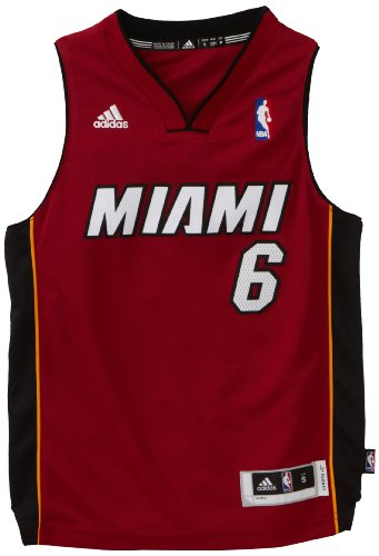 NBA Miami Heat LeBron James Swingman Alternate Youth Jersey, Maroon, X-Large (Youth Miami Heat Jersey compare prices)