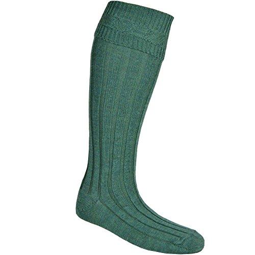 USA Kilts Men's Kilt Hose Socks Medium Lovat -