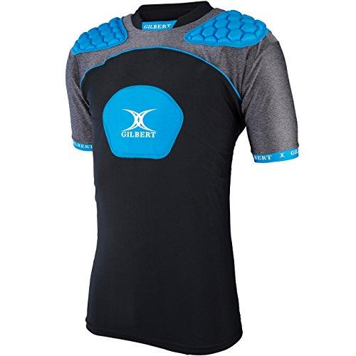 - Gilbert Atomic V3 Body Armour Men's Rugby Vest, Blue, L