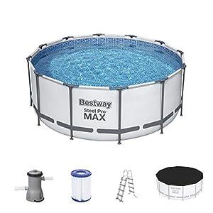 Bestway Steel Pro MAX 12′ x 48″/3.66m x 1.22m Pool Set