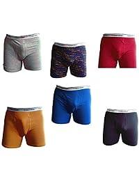Underwear 6-Pack Cotton Stretch Boys' Boxer Briefs