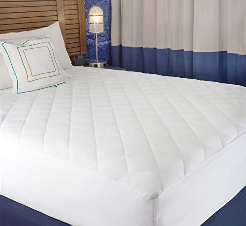 Buy quilted cotton mattress pad