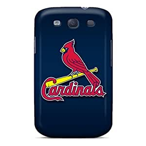 Perfect Fit QJY1440jvXz St. Louis Cardinals Case For Galaxy - S3