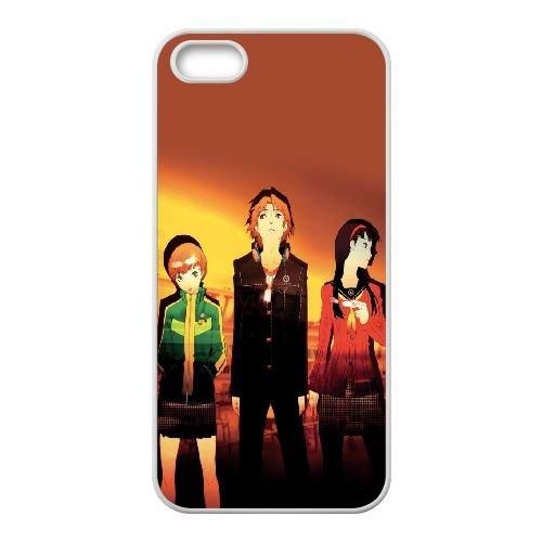 Persona 3 coque iPhone 4 4S Housse Blanc téléphone portable couverture de cas coque EEEXLKNBC19638