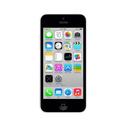 Apple iPhone 5C, GSM Unlocked, 16GB - White (Renewed) (Cheap Iphone Unlocked 5c)