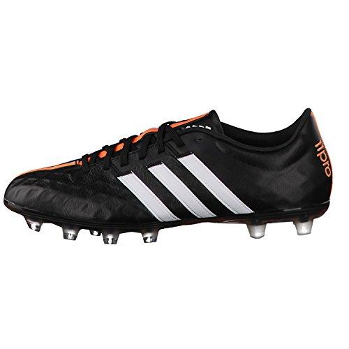 adidas Fussballschuhe 11pro FG 40 2/3 core black/ftwr white/flash orange s15