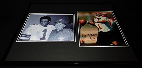 - Warren Moon Signed Framed 16x20 Photo Display Chiefs Washington