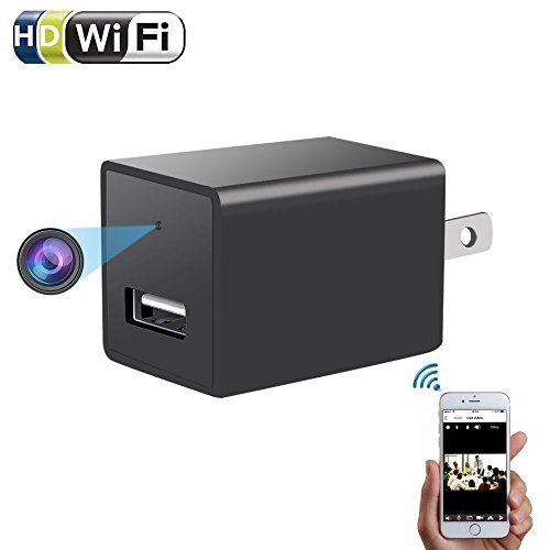 Camcorder Service Manual (1080P Wifi Charger Hidden Spy Camera - ENKLOV HD P2P Wireless Wifi Video Camcorder with Motion Detection, USB AC Wall Plug Adapter for IOS iPhone Android Phone APP Remote View, suport 128G SD Card)