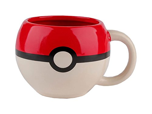 Price comparison product image Pokemon Pokeball Molded Coffee Mug